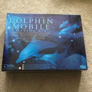 3D Sparkling Dolphin Mobile Making Kit